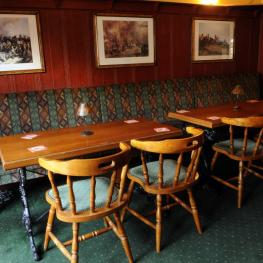 The Anglesey Arms Bromley Seating Area